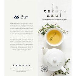 Carta para Profesionales La Tetera Azul