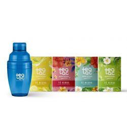 Pack Coctelera Tea Tac