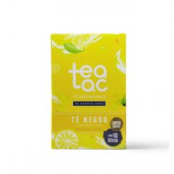 Black tea lemon flavour