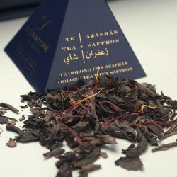 Oolong tea with Saffron
