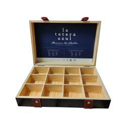 Wooden Box La Tetera Azul 12 holes