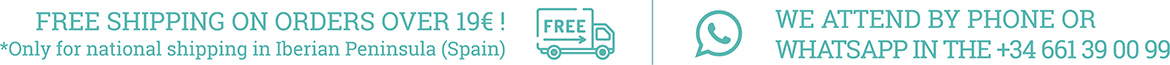 Free shipping for more than 19 €