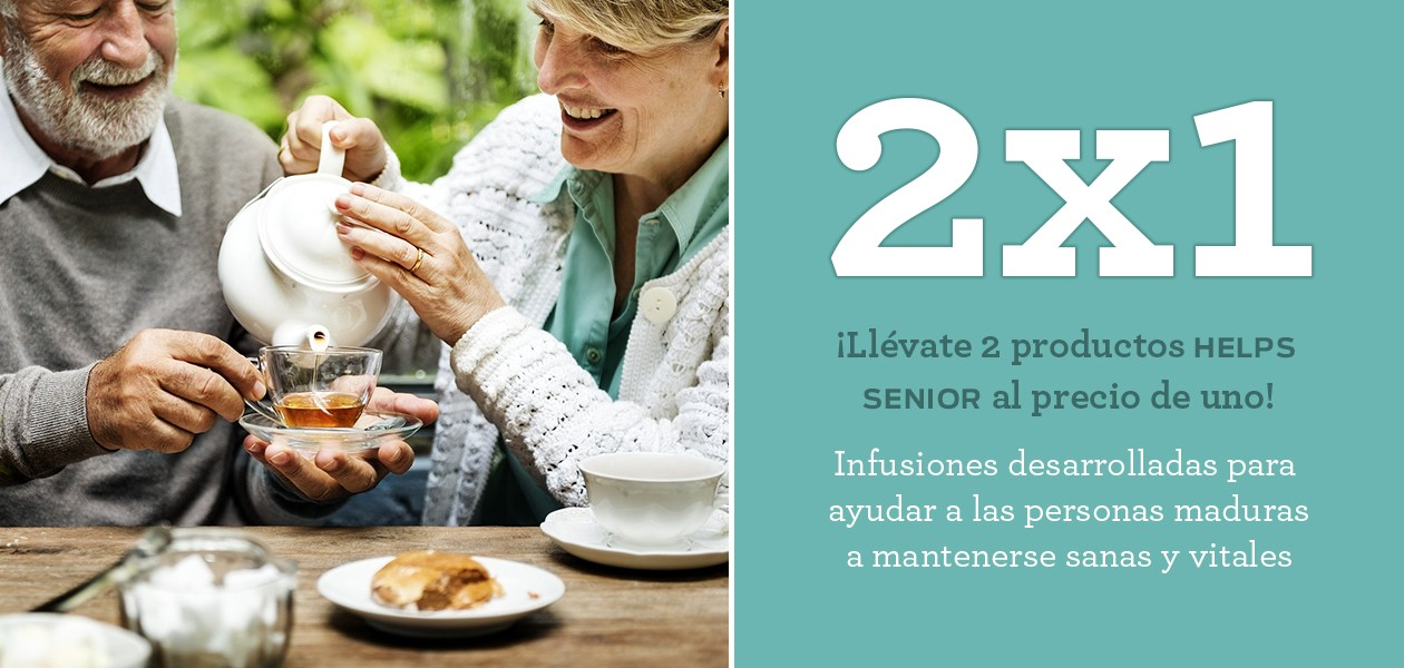 2X1 En toda la Gama Helps Senior