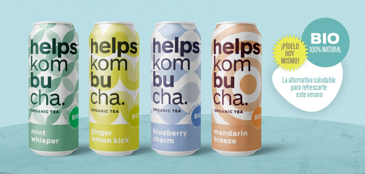New Helps Kombucha
